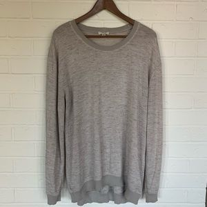 Wilfred Lightweight Oatmeal Sweater
